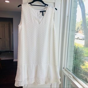 BCBG | White Shift Dress